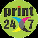 PRINT24X7 icon