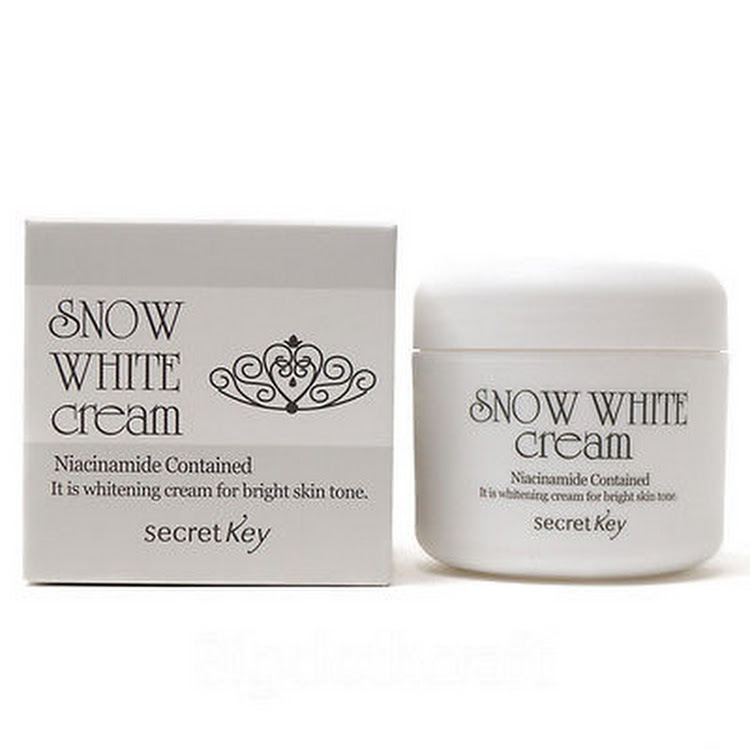 Snow white whitening princess cream 50ml by Supermodels Secrets