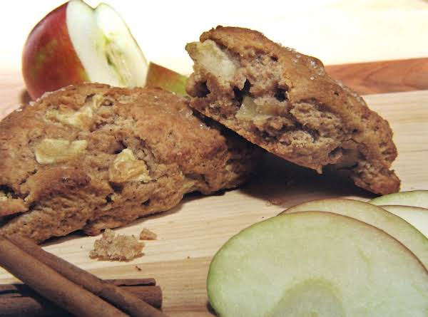 Food, Flavor, And Spirits Pairing For These Rich, Tender Scones Are Wheat Flour, Apples, Apple Pie Spices, And Brandy!