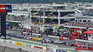 Photo: the line up .... drivers start your engines!