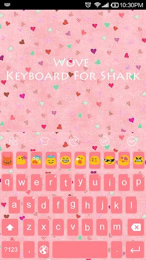 Pink Wove-Emoji Theme
