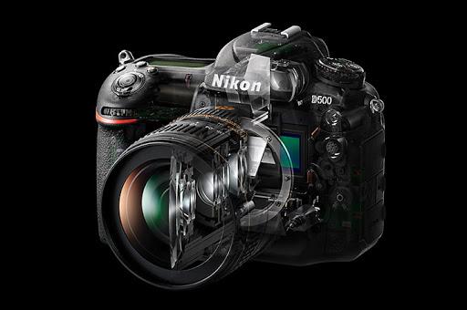 Nikon D500 a