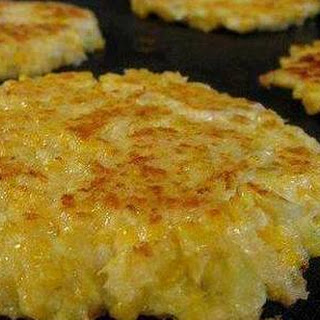Cheesy Cauliflower Patties Recipe