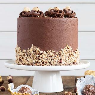 Ferrero Rocher Cake Recipe