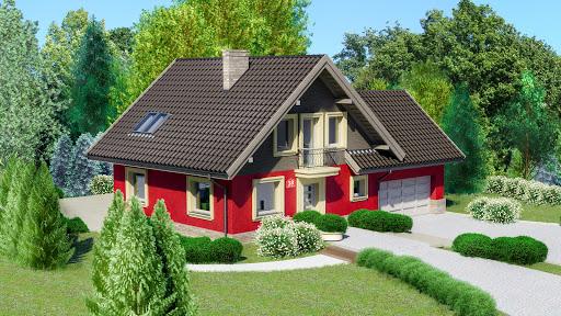 projekt Dom przy Cyprysowej 18