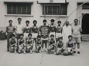 Photo: 喇沙校聯籃球比賽在本校舉行本校得冠軍05
