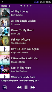 PowerAudio Pro music player- screenshot thumbnail