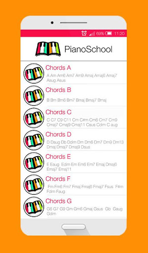 Piano School The Complet Guide For Piano Chords Apk Download