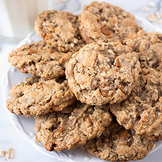 Oatmeal Cinnamon Chip Cookies.