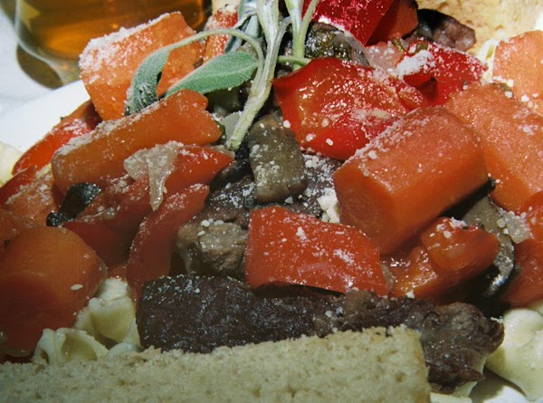 Sage And Beer Braised Beef Short Ribs Over Cheese Recipe