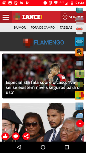 Flamengo Ao Vivo screenshot 16