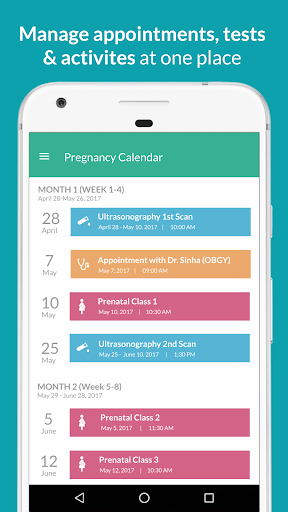 Pregnancy Week by Week Tracker Screenshot