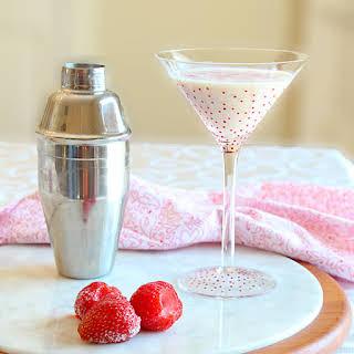 White Chocolate Strawberry Martini.