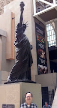 Photo: Statue of Liberty model in Orsay Museum