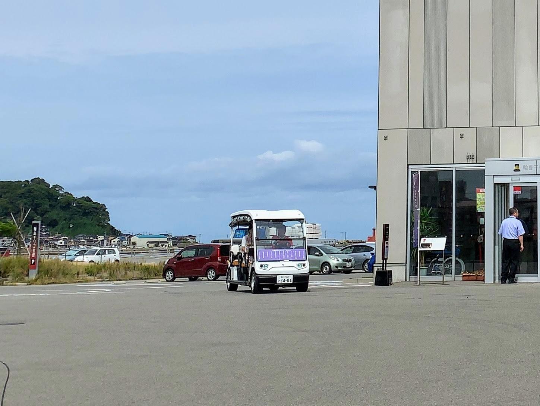 輪島発・電動カートWA-MOを使った新交通システム