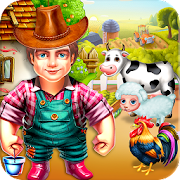 Game Big Man Dairy Farm Life - Small Town Village APK for Windows Phone
