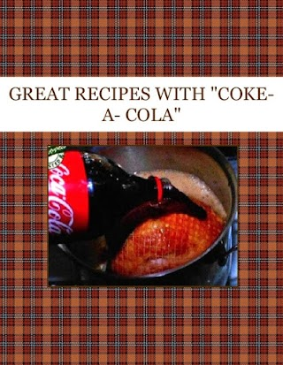 "GREAT RECIPES WITH    ""COKE-A- COLA"""