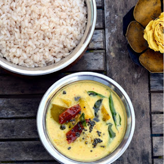 Mambazha Pulissery ~ Sweet and Sour Mango Curry.