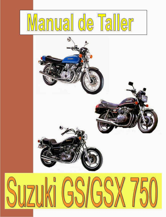 suzuki GS 750 - GSX 750-manual-taller-despiece-mecanica