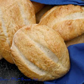 Teleras (Flat Bread Rolls).