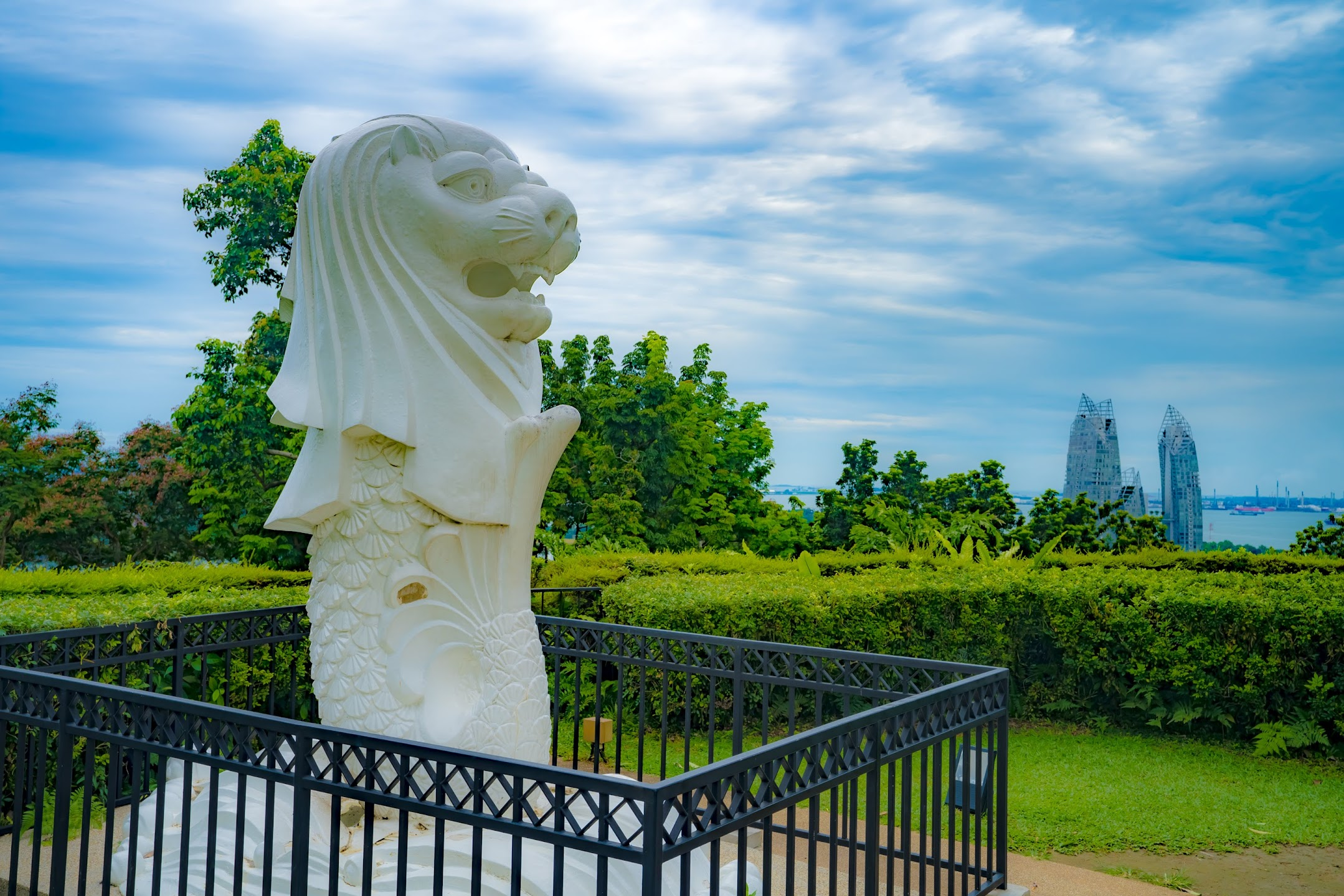 Singapore Mount Faber Merlion1
