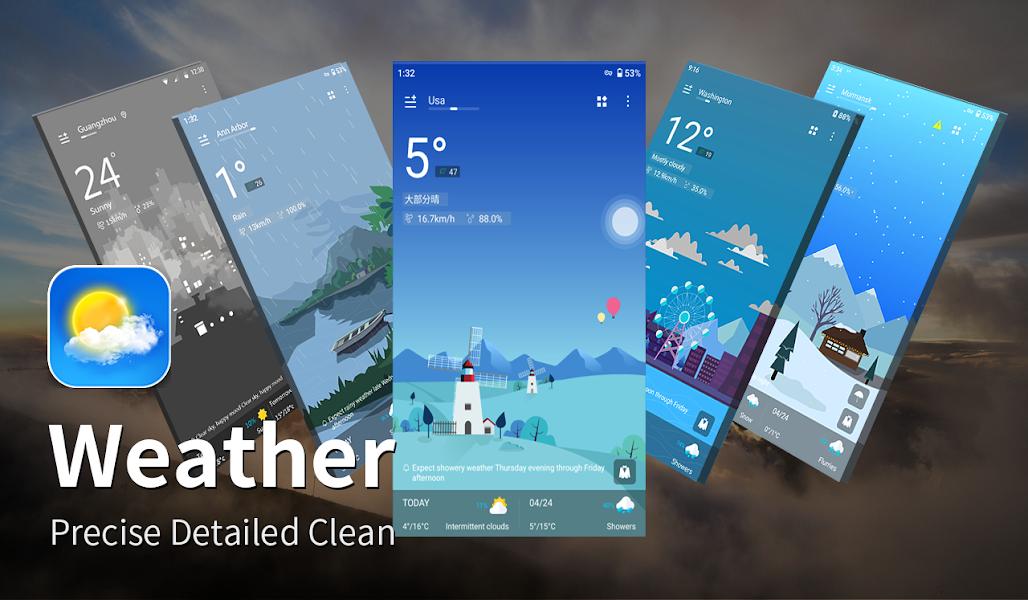 Weather Forecast - Live Weather Alert & Widget