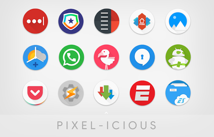 PIXELICIOUS ICON PACK v0.95