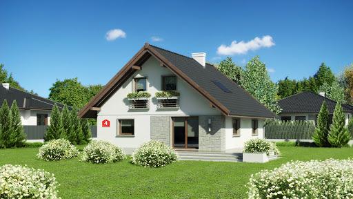 projekt Dom przy Cytrynowej 4