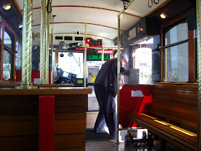 Photo: Departing Trolley