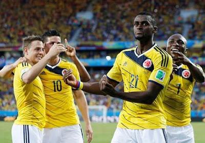 La Colombie élue l'équipe la plus fair-play