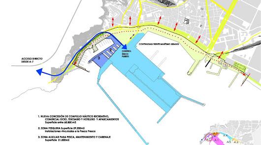 El master plan propone un puerto pesquero con ocio y hotel