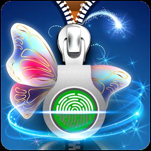 download butterfly zipper lock screen