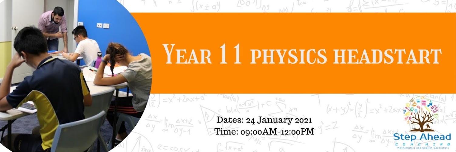 Year 11 Physics HeadStart