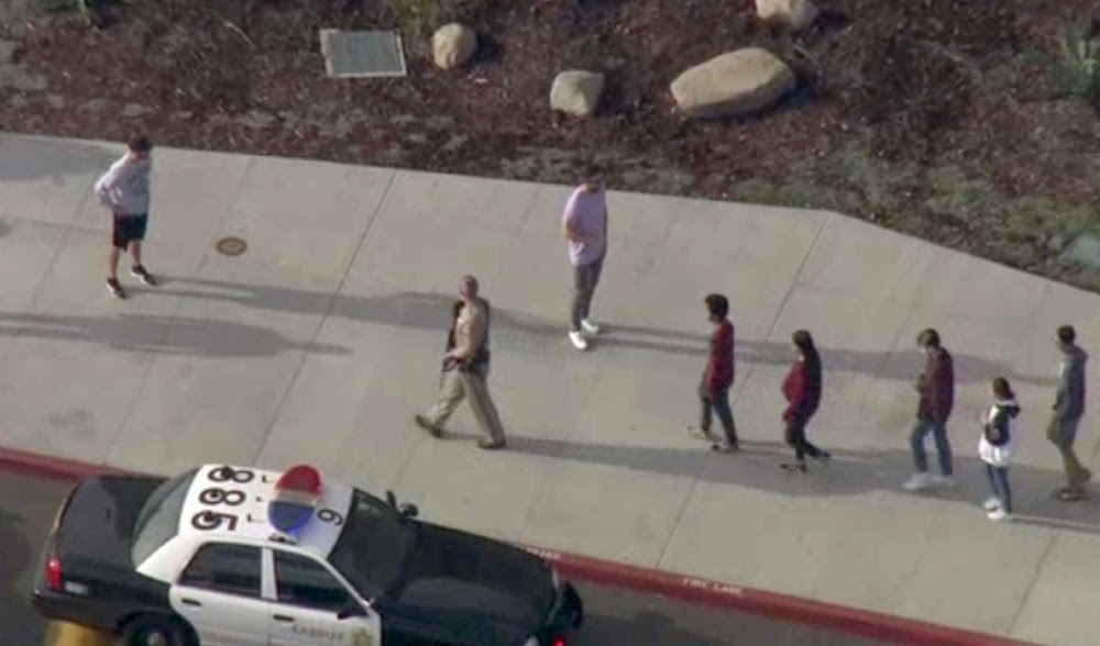At least five injured in mass shooting at  California school