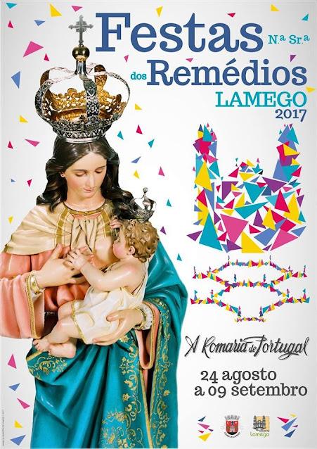 Programa das Festas de Nossa Senhora dos Remédios – 2017 – Lamego