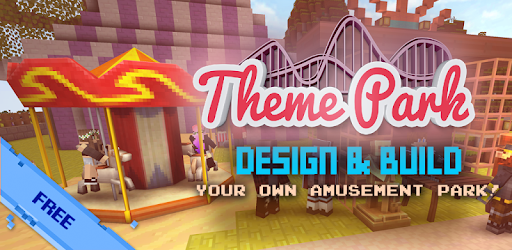 Theme Park Craft: Build & Ride for PC