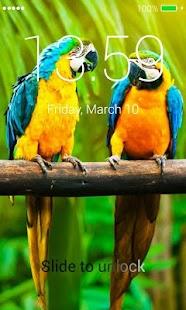 Birds Lock Screen - náhled