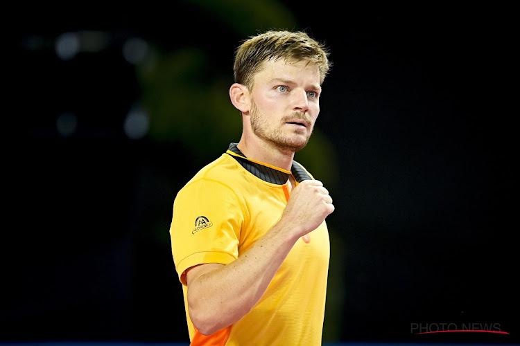 David Goffin begint goed in Doha en plaatst zich voor de tweede ronde na overwinning tegen nummer 32 van de wereld