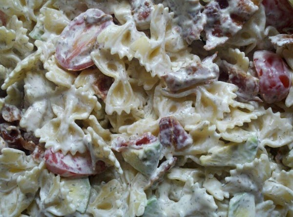 Avocado , Bacon , Tomato  Pasta Salad Recipe