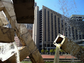 Photo: I guess it sort of matches the Embarcadero Center's modernism