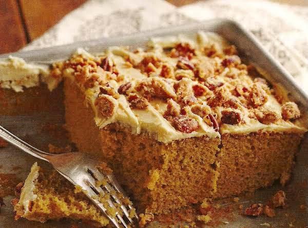 Praline Crunch Cake Recipe
