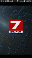 Screenshot of KPLC 7 StormVision Weather