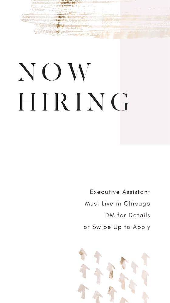 Now Hiring - Facebook Story Template