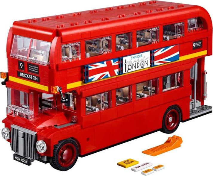 Contenido de Lego® 10258 Autobús de Londres