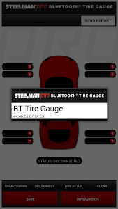 Bluetooth Tire Gauge screenshot 1