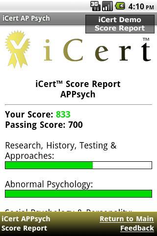 iCert AP Psych Practice Exam APK | APKPure ai
