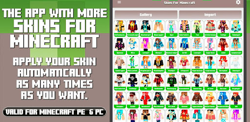 Skins for Minecraft PE & PC - Apps on Google Play