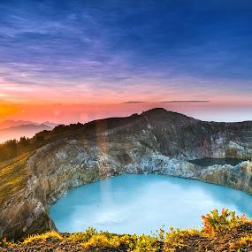 kelimutu lake by Dhanu Wijaya - Landscapes Mountains & Hills