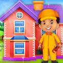 Repair Modern House: Cleaning & Fix it Game icon