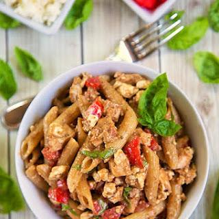 Greek Chicken Pasta Salad {Taziki's Friday Pasta}